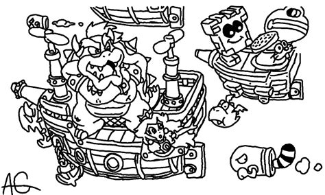 Free Coloring Pages Of Mario 3d Mario 3d Land Coloring Pages