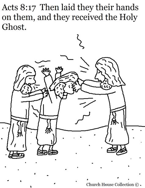 Coloring Page Acts 9 by The Gifts Of Holy Spirit Sunday School Coloring Pages