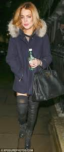 The Partying Never Stops For Lohan by Lindsay Lohan Settles Into New Lifestyle As She