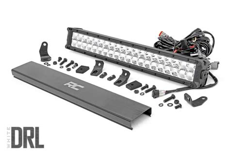 20 cree led light bar 20 inch cree led light bar with cool white drl 70920drl