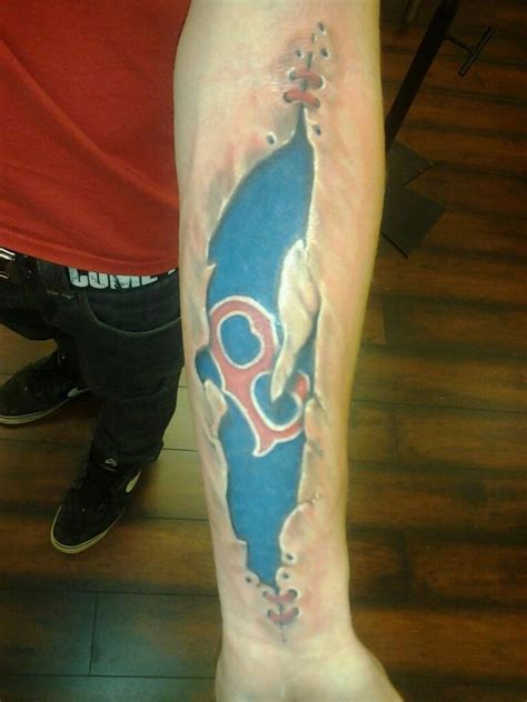 red sox tattoo i don t need another sox this one is just