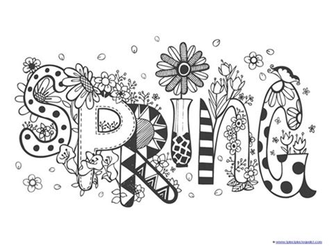 spring coloring pages for adults pdf spring coloring pages 1 1 1 1
