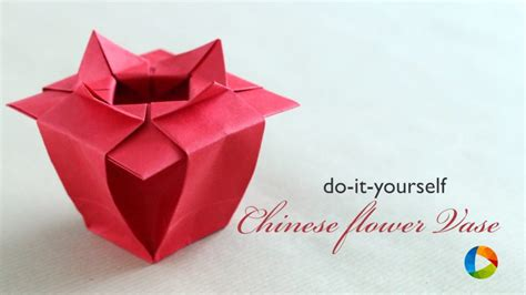 China Origami - free coloring pages how to make origami flower