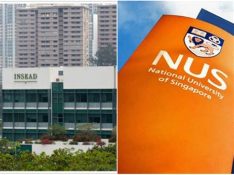 Insead Executive Mba Average Gmat Score by Insead Nus Come In And Second In Asia Pacific For