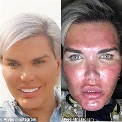 human ken doll before and after human ken doll who s had 60 plastic surgeries wants
