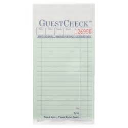 Waitress Order Pad Template by Printable Waitress Order Pads