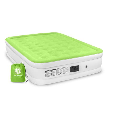 air comfort dream easy queen size raised air mattress