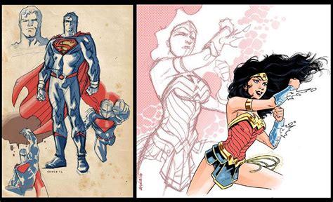 wonder woman the rebirth 1401276784 superman and wonderwoman rebirth by dichiara on