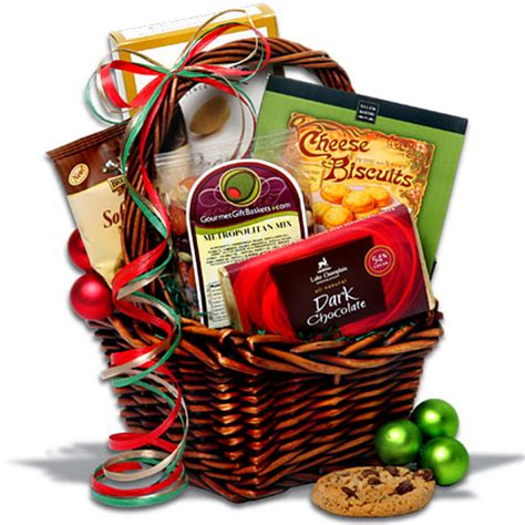 christmas food gift baskets santa claus and christmas