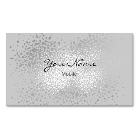 Sparkle Business Card Templates by 1210 Best Glitter Sparkle Business Cards Images On
