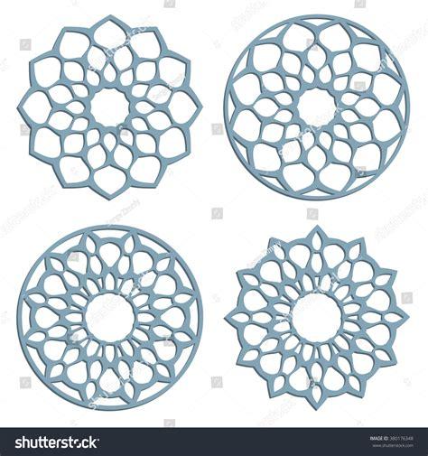 pattern cutting en francais diy laser cutting patterns islamic die stock vector