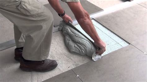 How To Lay Tile On Concrete Floor by Tile How To Lay Tile On A Concrete Floor Design Ideas