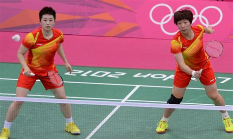 eight badminton players disqualified from olympics for trying to throw matches the big lead