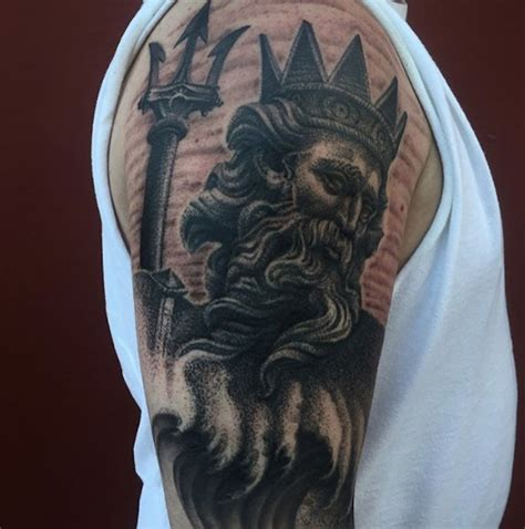 king neptune tattoo a brief history of naval tattoos thechive