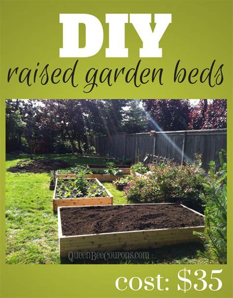 building raised garden beds cheap