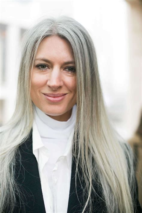 haircuts for straight grey hair long face hairstyles to try when you re over 40