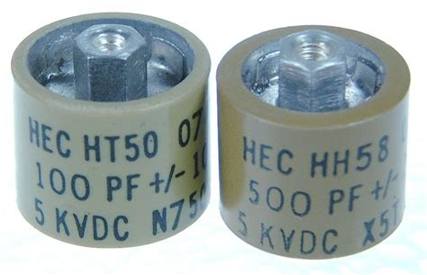 ceramic capacitor in series part number ht50v201ka ht50 series ceramic capacitors on high energy corp