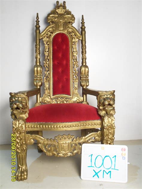 throne armchair 5 kings chair