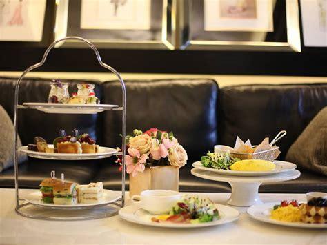afternoon tea set   view lounge hotels  seoul