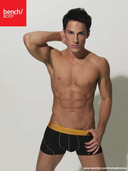 bench hunks vire diaries star michael trevino hunk of the day