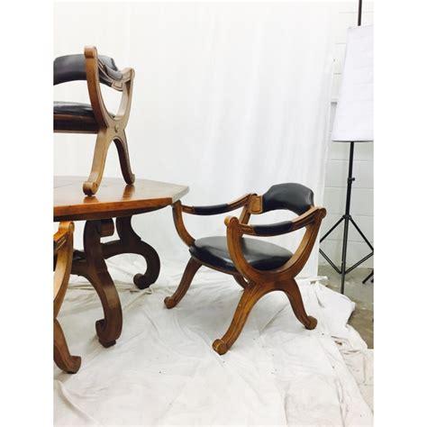 vintage drexel esperanto chairs table set chairish