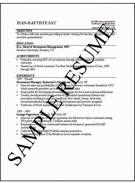 how to make a resume simple resumes jobsamerica info