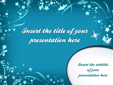 Merry Christmas ? Template for PowerPoint and Impress