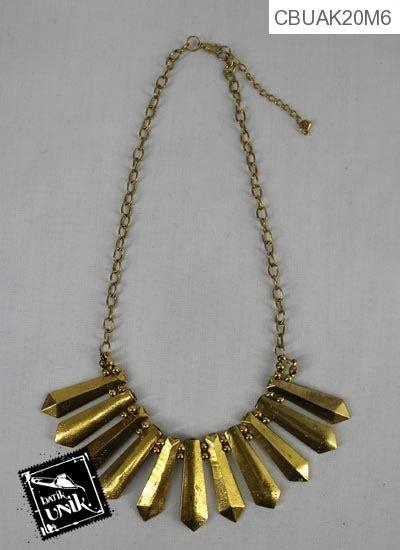 Kalung Coker 15 kalung coker tembaga bagar emas kalung etnik murah batikunik