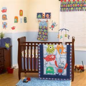 Cheap Baby Boy Crib Bedding Baby Boy Nursery Colorful Monsters Cheap Baby Boys 4p Nursery Crib Bedding