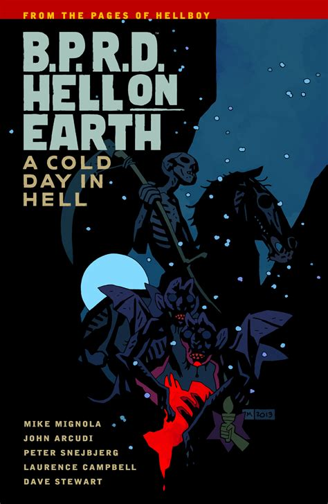 a cold day in hell a cold investigation books previewsworld bprd hell on earth tp vol 07 a cold day in