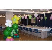 Decoraci&243n Con Globos Para Fiestas Infantiles Salones Y Jardines