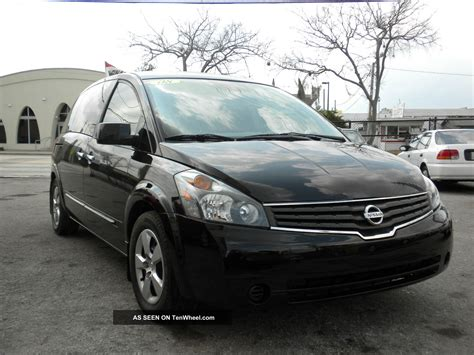 black nissan 2008 2008 nissan quest black