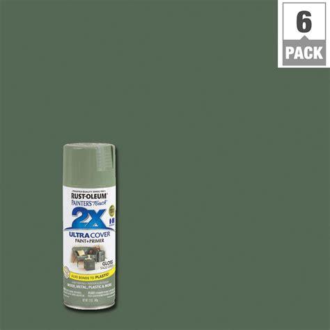 rustoleum spray paint x2 rust oleum painter s touch 2x 12 oz gloss green