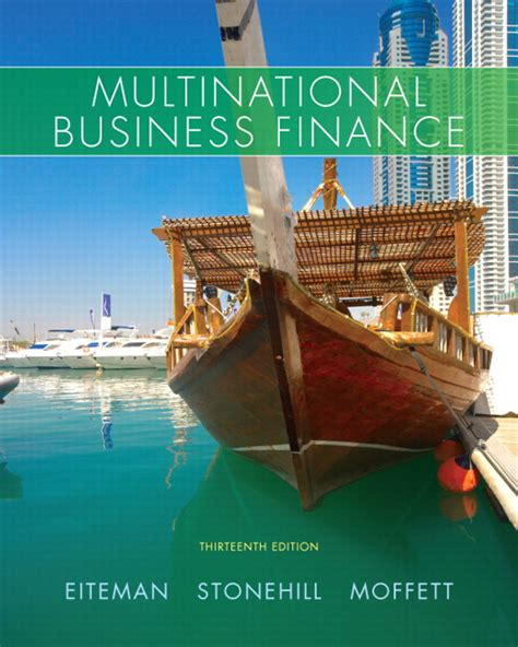 Corporate Finance Foundations 14th Edition eiteman stonehill moffett multinational business finance pearson