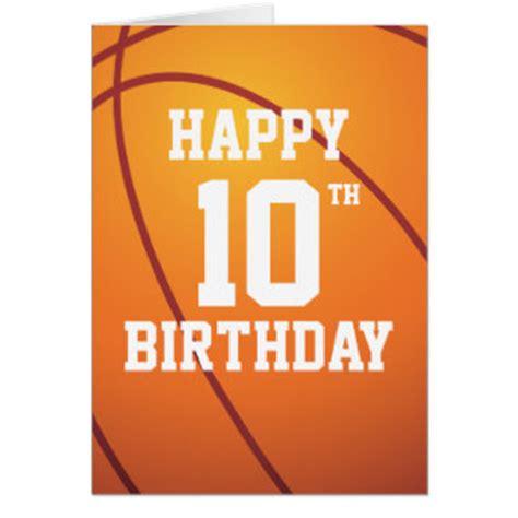 imagenes de happy birthday basketball basketball birthday cards invitations zazzle co uk