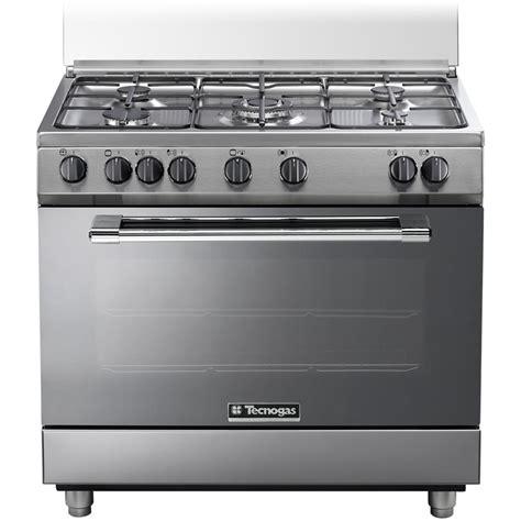 cucine a gas con forno tecnogas p965gvx cucina a gas 5 zone cottura con forno a