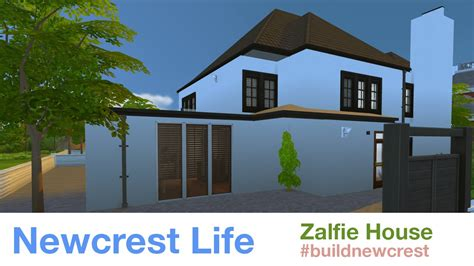 the sims 4 zalfie house newcrest