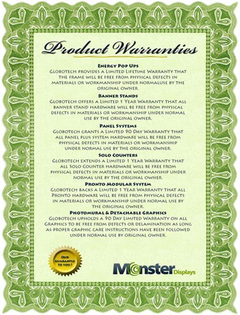 Warranty Certificate Templates   redingtransrnpc   Blog.hr