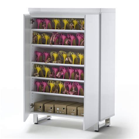 shoe storage sydney sydney 2 door shoe cabinet in high gloss white with 2