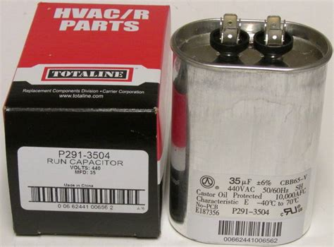 capacitor for air conditioner carrier 35 mfd 440 volt bryant carrier totaline oval run capacitor