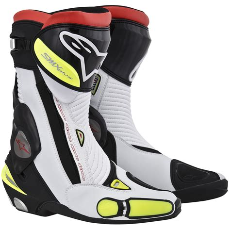 white motorbike boots alpinestars smx s mx plus 2013 motorcycle racing motorbike