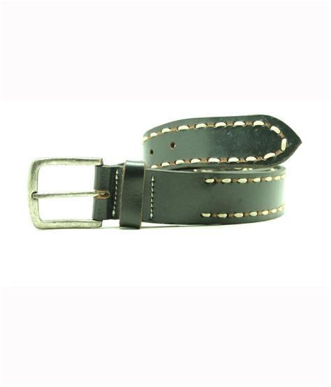 vintage classic leather belt black buy at