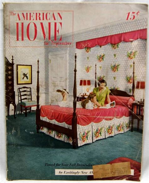100 magazines that sell home decor luxhome magazine the american home magazine september 1947 vintage house