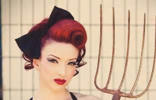 pin up hairstyles for black with hair pinup swirl vintage inspired hairstyle youtube