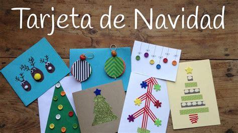 imagenes de manualidades navidenas para ninos 10 tarjetas de navidad originales para ni 241 os