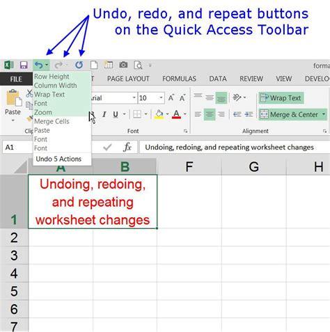 command pattern java exle undo using undo redo and repeat in excel