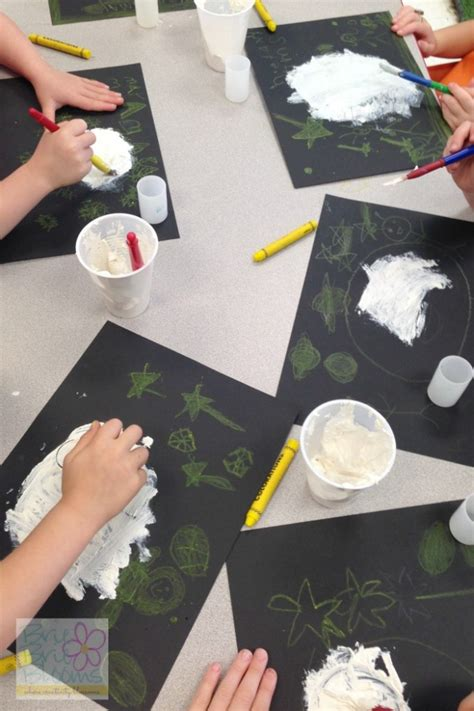 preschool science moon craft brie brie blooms