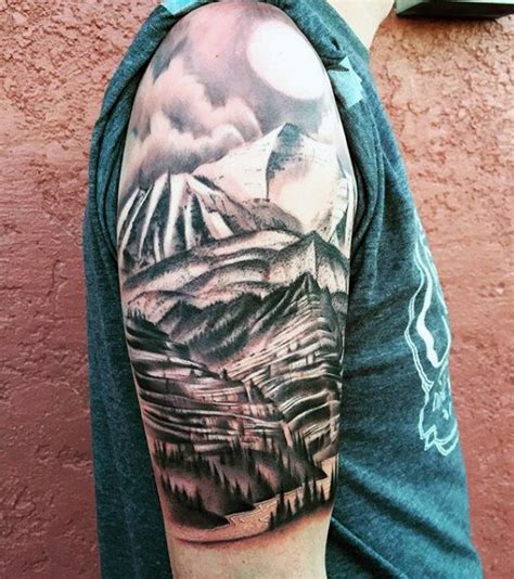 tree tattoo ideas for men 70 pine tree ideas for wood in the wilderness
