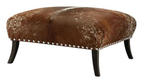 interesting cowhide ottoman for sale pictures best cowhide ottoman
