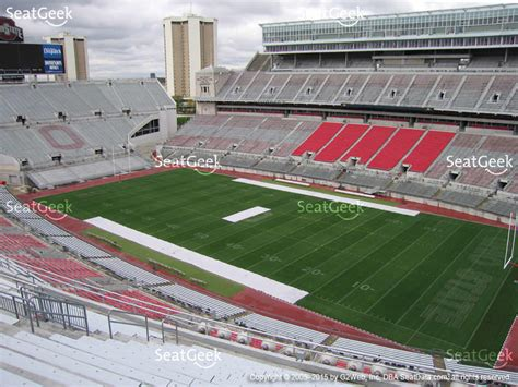 ohio state stadium seating chart ohio state stadium seating chart ohio stadium section 14